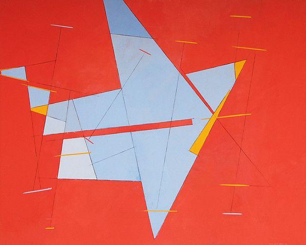 Irma Salo Jæger <em>Om Aiolis</em><br />olje og tempera på lerret, 162x200 cm