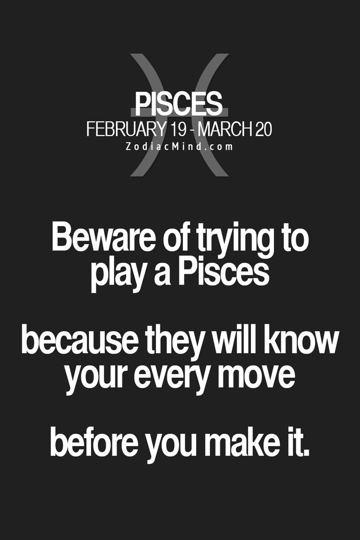 """Pisces:  """"#Pisces ~ Beware of trying to play a Pisces..."""""""