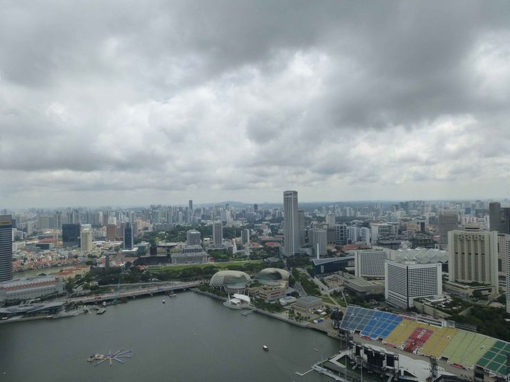 View on #Singapur from Marina Bay Sands Hotel