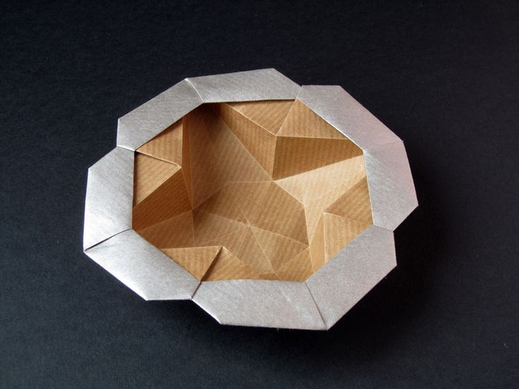 44 best origami boxes and containers images on pinterest origami scatola stella fiore flower star box francesco guarnieri mightylinksfo Choice Image