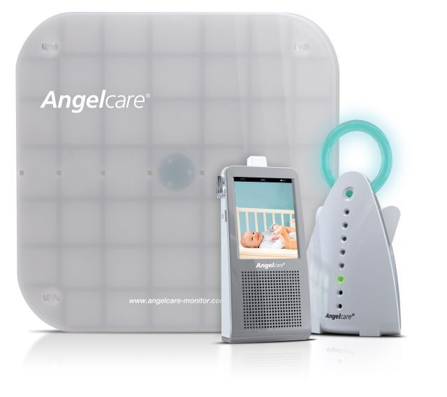 Angel Care breathing monitor. Best thing ever invented for a mom's peace of mind. Couldn't have lived without mine.