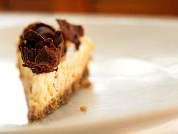 Cheesecake de abóbora com chocolate | DigaMaria