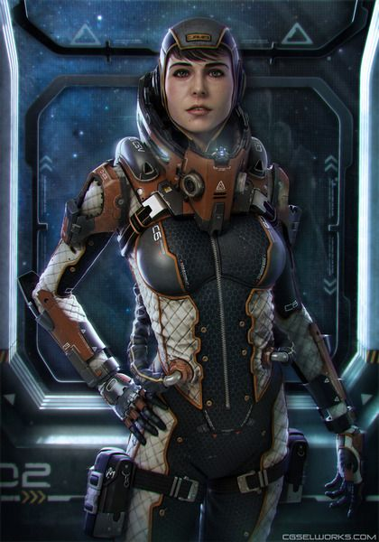 Sci fi female space suit page 2 pics about space for Female space suit