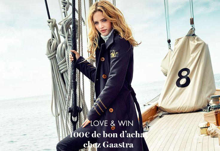 Love&Win: 100€ à gagner chez Gaastra