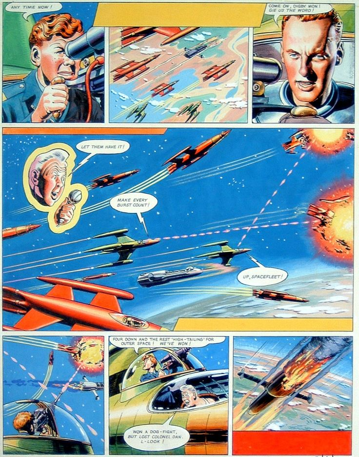 Cloud 109: Vintage Dan Dare and a New Site to Check Out!