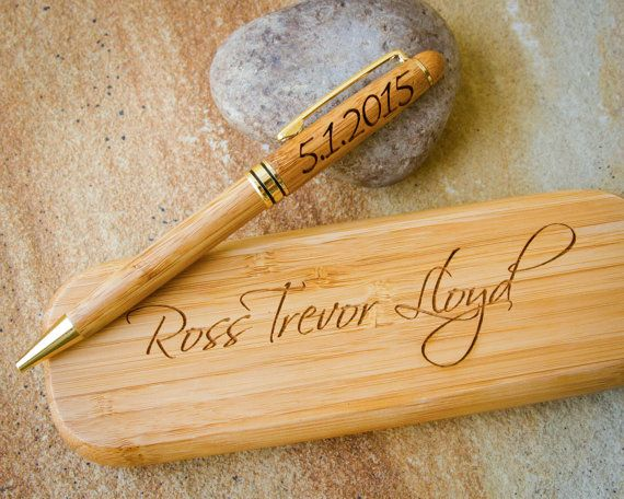 Personalized Pen Case Custom Pen Set Custom Engraved Pen