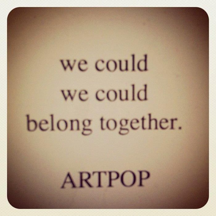 """Artpop,"" Lady Gaga lyrics"