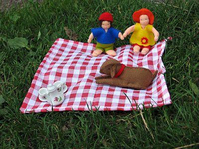 Atelier de Vier Jaargetijden: Zomerpicknick van  Pippilotta voor op de seizoenta...