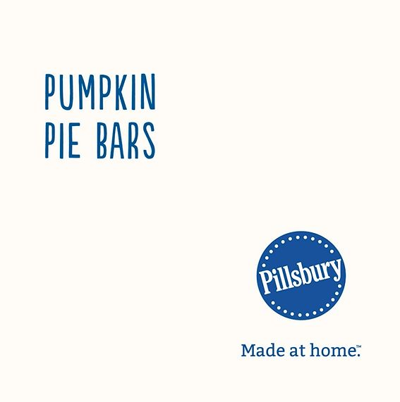 Give the bar treatment to your favorite holiday pie for an easy-to-serve holiday win.