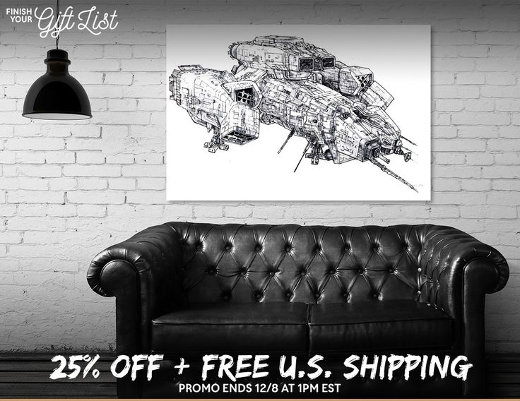 Discover «Nostromo», Limited Edition Canvas Print by Maurice Pierse - From $59 - Curioos