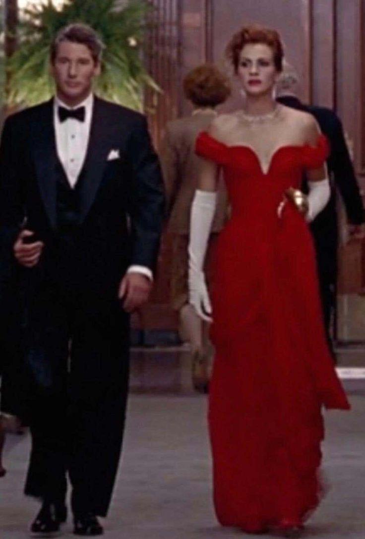 Julia Roberts Pretty Woman Vintage Vicky Tiel Couture Sz 12 Black 1980s Gown Pretty Women Dresses Pretty Woman Red Dress Pretty Woman Halloween [ 1087 x 736 Pixel ]