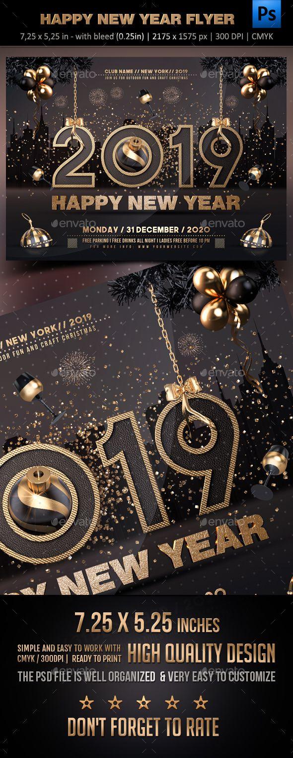New Year Flyer New Year Flyer Flyer Flyer Templates