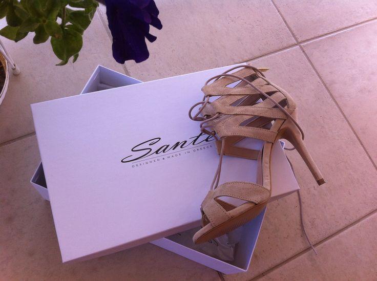 Sante gladiator sandals!