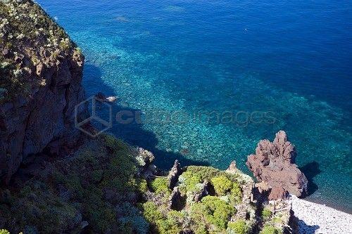 Punta Scario, Malfa, Salina island, Sicily, Italy