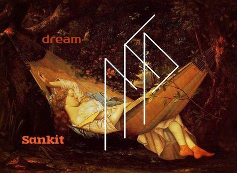 Автор Sankit От автора Увидеть во сне нужные вам события Наутиз- помогает добиться нужных вам событий во сне Уруз - здоровый потенциал сна Лагуз- помогает упра