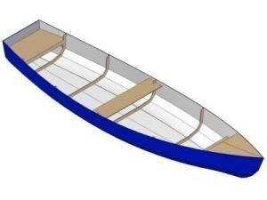 15ft Dinghy - Boat plans - Pictures