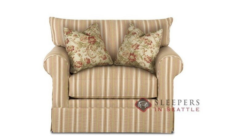 Savvy Georgetown Sleeper (Chair)  Traditional and detailed.  Kiln-dried hardwood frame. Customize it!