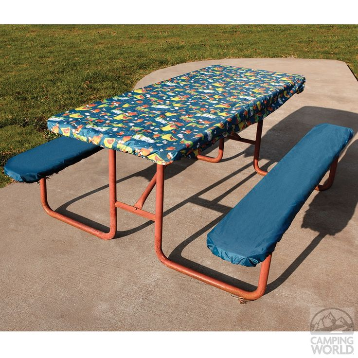 Campfire Picnic Table Cover Amp Pads Four Corners Yf141106