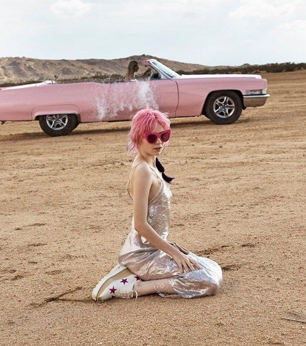 Grimes / Stella McCartney fragrance 'POP' Ad by Glen Luchford.