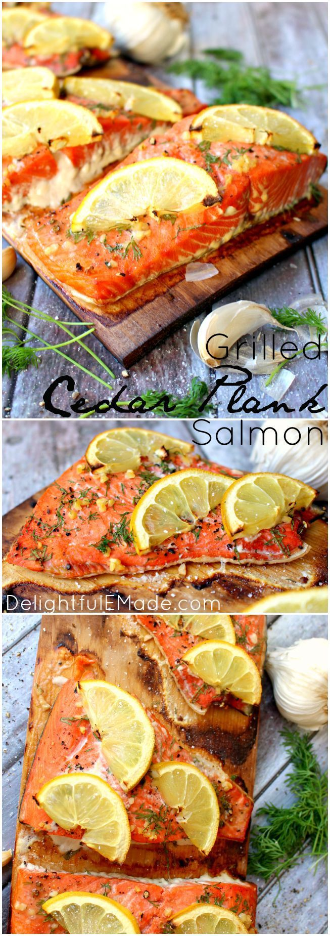 This is one of the most flavorful ways to grill!! Grilled Cedar Plank Salmon is not only healthy, but tastes amazing, and is very easy to prepare!