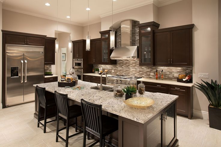 Kitchen at emerald homes mirabella model at palmira golf - Interior designers bonita springs fl ...