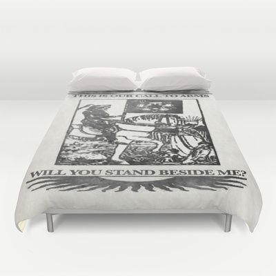 Will you stand beside me? - Version 2 - The Death Duvet Cover for Bedroom Decoration Ideas - $99.00