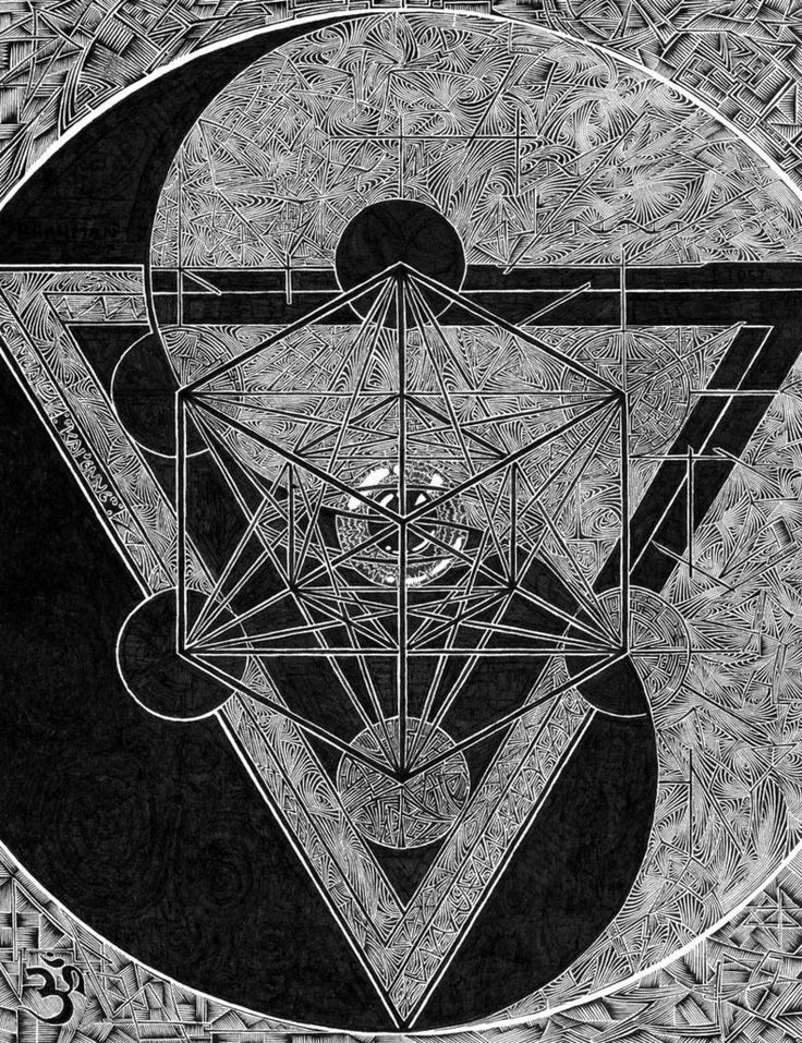 Merkaba and Yin & Yang / Sacred Geometry <3