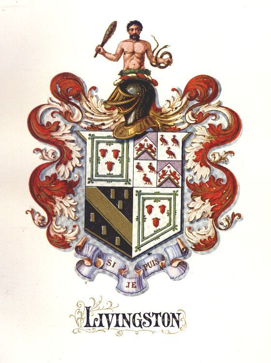 livingston family crest