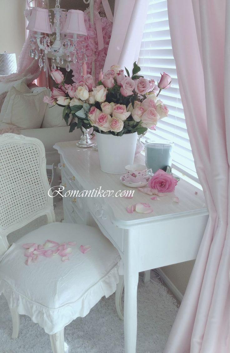 My Shabby Chic Home ~ Romantik Evim ~Romantik Ev: +Shabby chic :Romantik Ev dekorasyonu: pembeler...