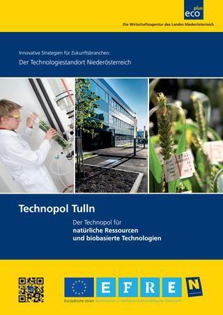Standortprofil Technopol Tulln - Stand 12/2016  Detaillierte Beschreibung des Technopol Tulln – Technopol für natürliche Ressourcen und biobasierte Technologien – mit den Forschungs- und Ausbildungseinrichtungen bzw. den angesiedelten Firmen vor Ort.