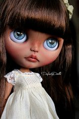 Heather (Isa Mira) Tags: blythe doll ooak custom cute takara tomi licca body dafnery dafnerydolls tan brunette rbl prima dolly heather sky commission