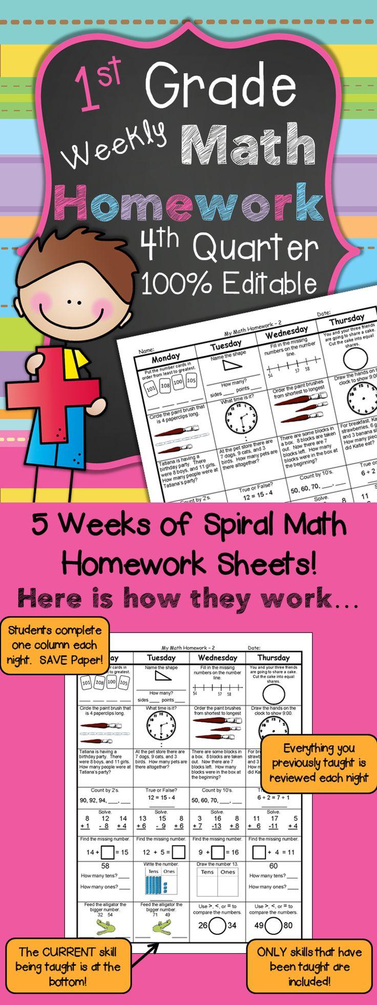 saxon math homework sheets