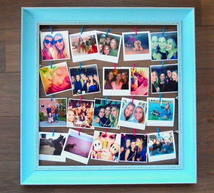 DIY: make your own photo collage, www.petite-amie.nl