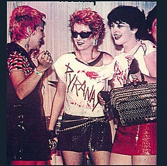L.A. Punk Rock Girls !- Uggh too trendy by half -- POISERS or does that mean loosers!