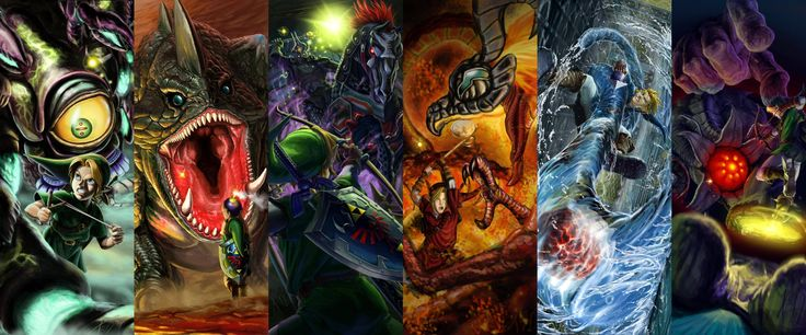 Legend of Zelda Wallpaper Showcases Epic Ocarina of Time