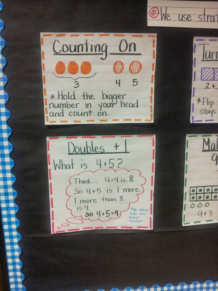 Mrs.B at BBC: Addition Strategies