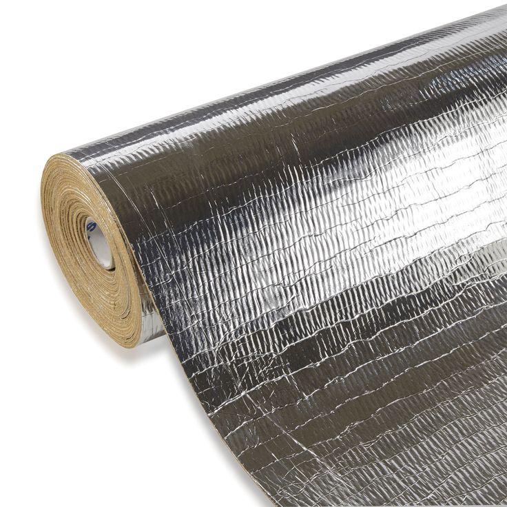 Duralay Silentwalk 3mm Sponge Rubber with Foil Backing Laminate Floor & Glueless Wood Floor Underlay 7.5 m² | Departments | DIY at B&Q