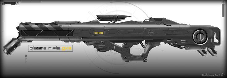 "Malchus's ""Plasma Rifle"" | Gun | Pinterest"