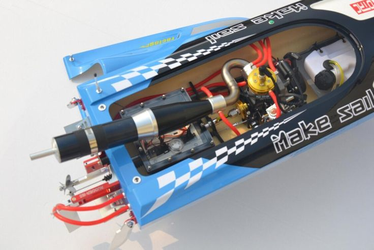 Rc Gas Boats