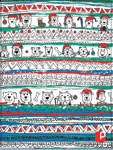 Papeles la Polar ilustracion Agustin Fuentes