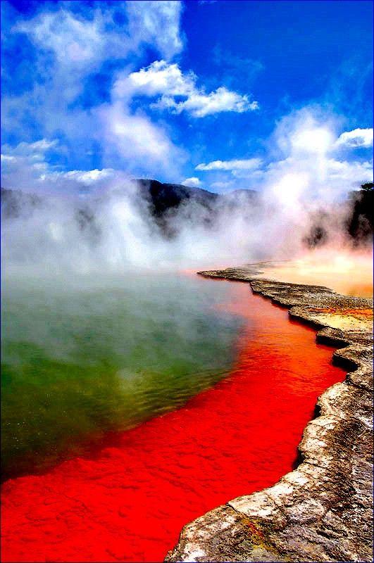 Wai o Tapu Thermal Wonderland, Rotorua, New Zealand (never been to north island just south island) https://hotellook.com/cities?marker=126022.pinterest