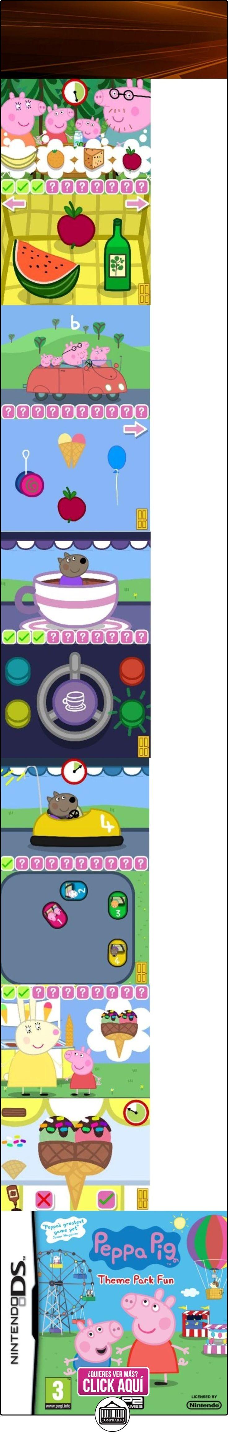 Peppa Pig - Theme Park Fun (Nintendo DS) [Importación inglesa]  ✿ Peppa Pig - Peppa La Cerdita ✿ ▬► Ver oferta: http://comprar.io/goto/B004G8QERA