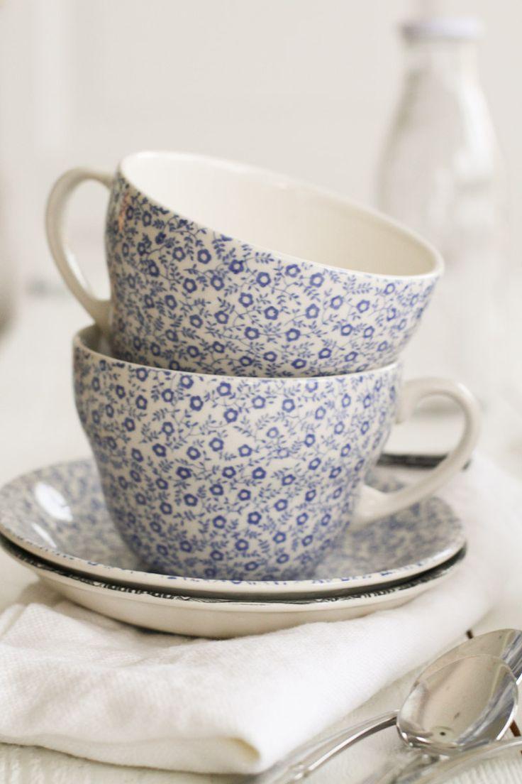 Burleigh Pottery | Blue Felicity Frukostkopp | Matilde & Co | Handla online