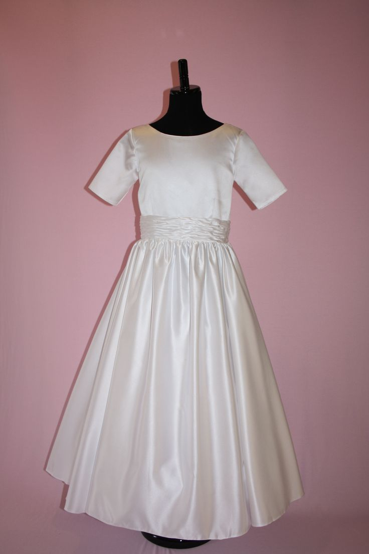 First Communion/Flower Girl Dresses from Silk n Satin Communion Dresses. $59 https://silknsatincommuniondresses.com.au/product/lisa/