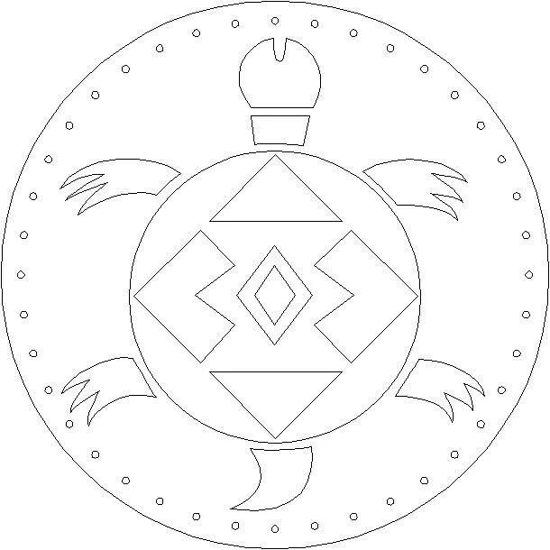 navajo sand painting coloring pages - photo#17