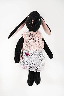 Hračky - zajačička černošková - 7524426_