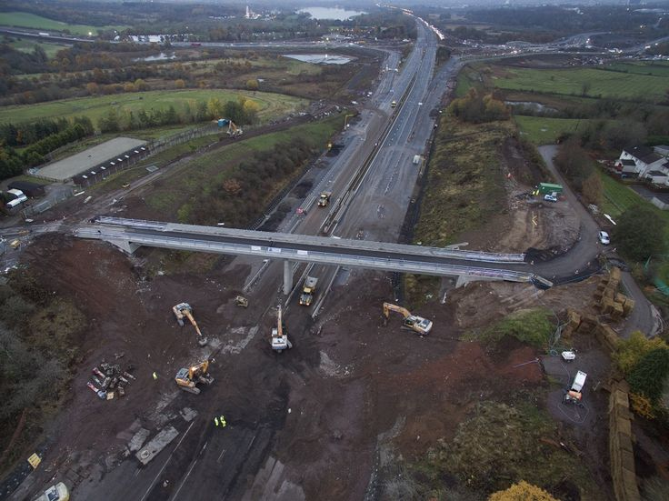 Part of the main arterial route between Scotland and England re-opened to traffic at over six hours ahead of schedule following the first planned closure of the road in its 50 year history. As part of the £500 million M8 M73 M74 Motorway Improvements Project, the M74 was closed to traffic in both directions for(...)