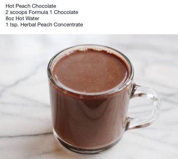 Herbalife Hot Peach Chocolate