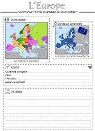 L'Europe Le continent européen