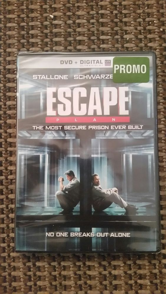 Escape Plan (DVD, 2014) New Sealed Movie Fast Shipping Film Great Buy Must Have